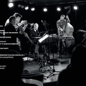 inside cover featuring julian arguelles and helge norbakken