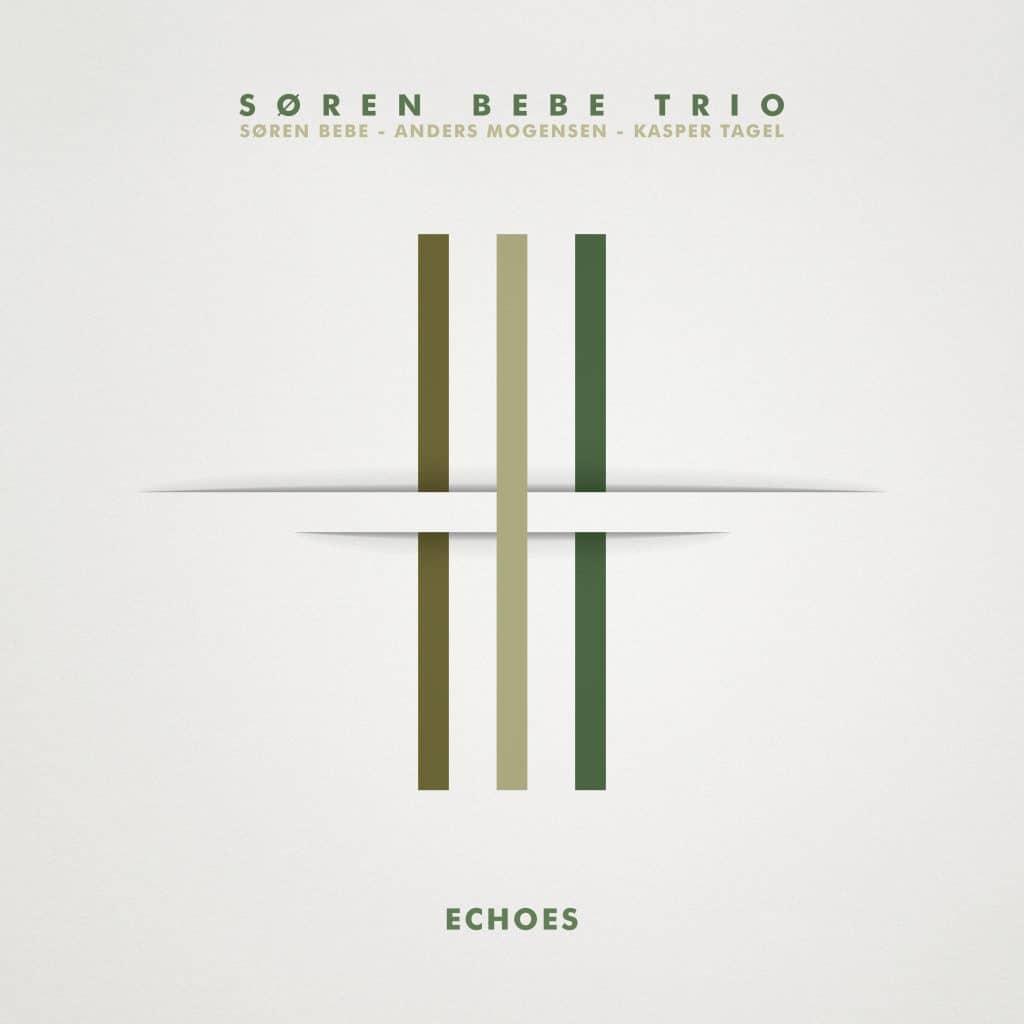 cd version of echoes by Søren Bebe Trio